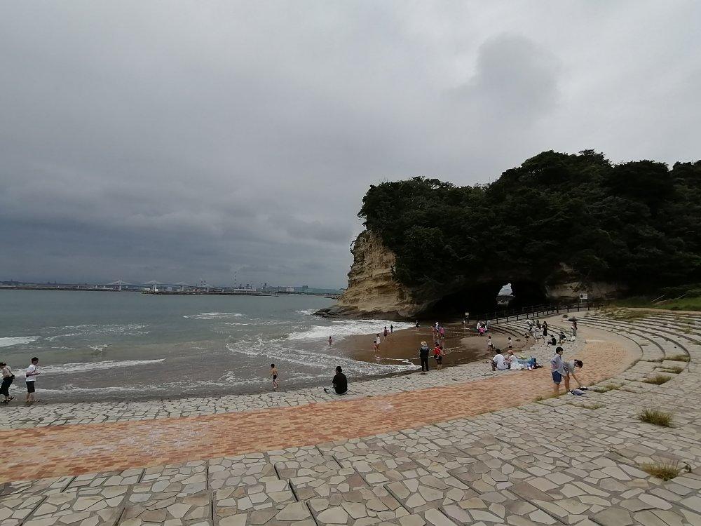 三崎公園の松下海岸