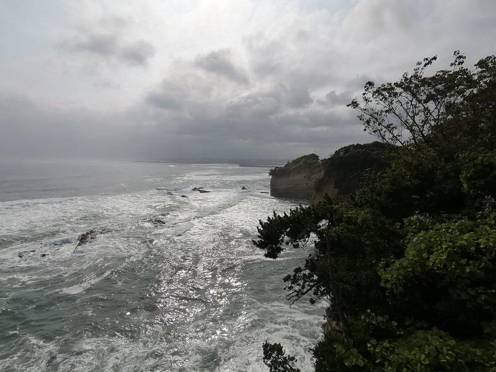 三崎公園の海岸