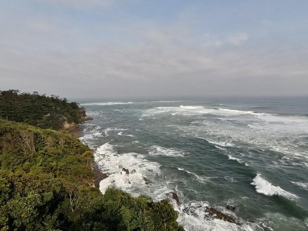 潮見台からの景色