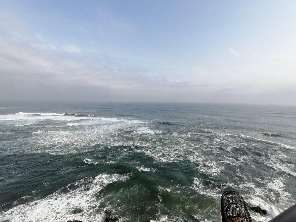 潮見台屋上からの景色