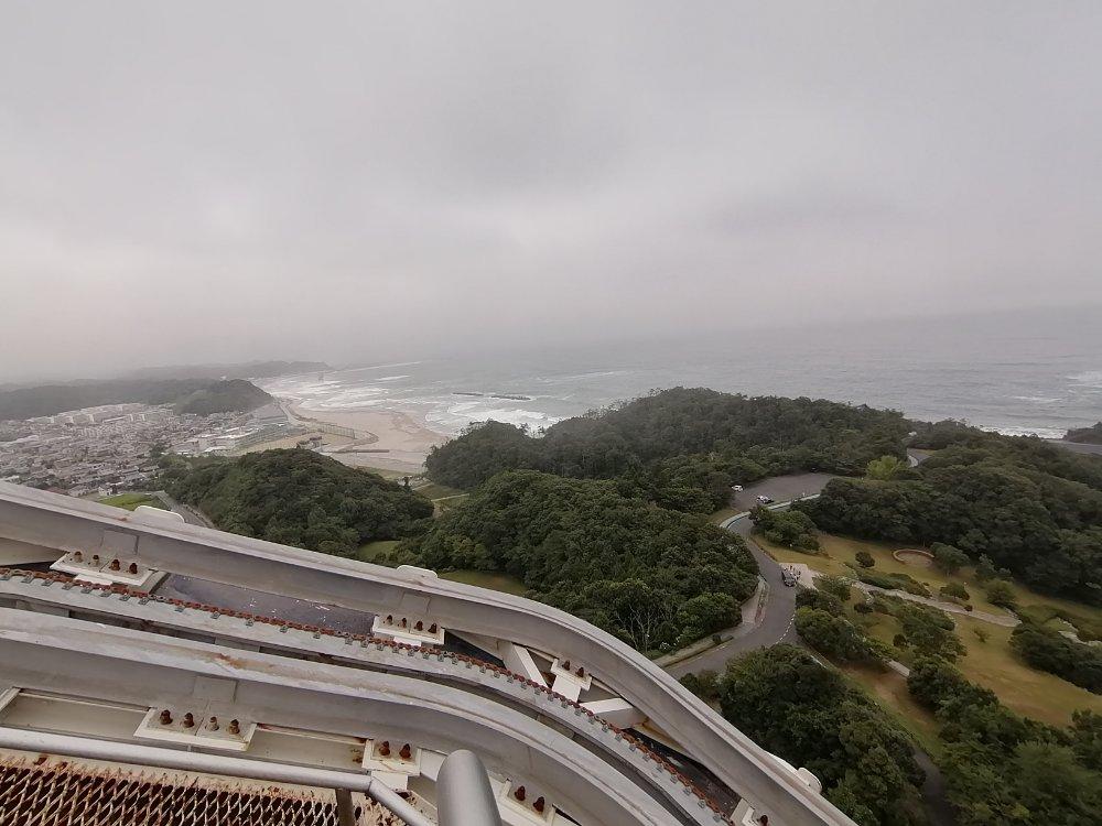 三崎公園と海水浴場