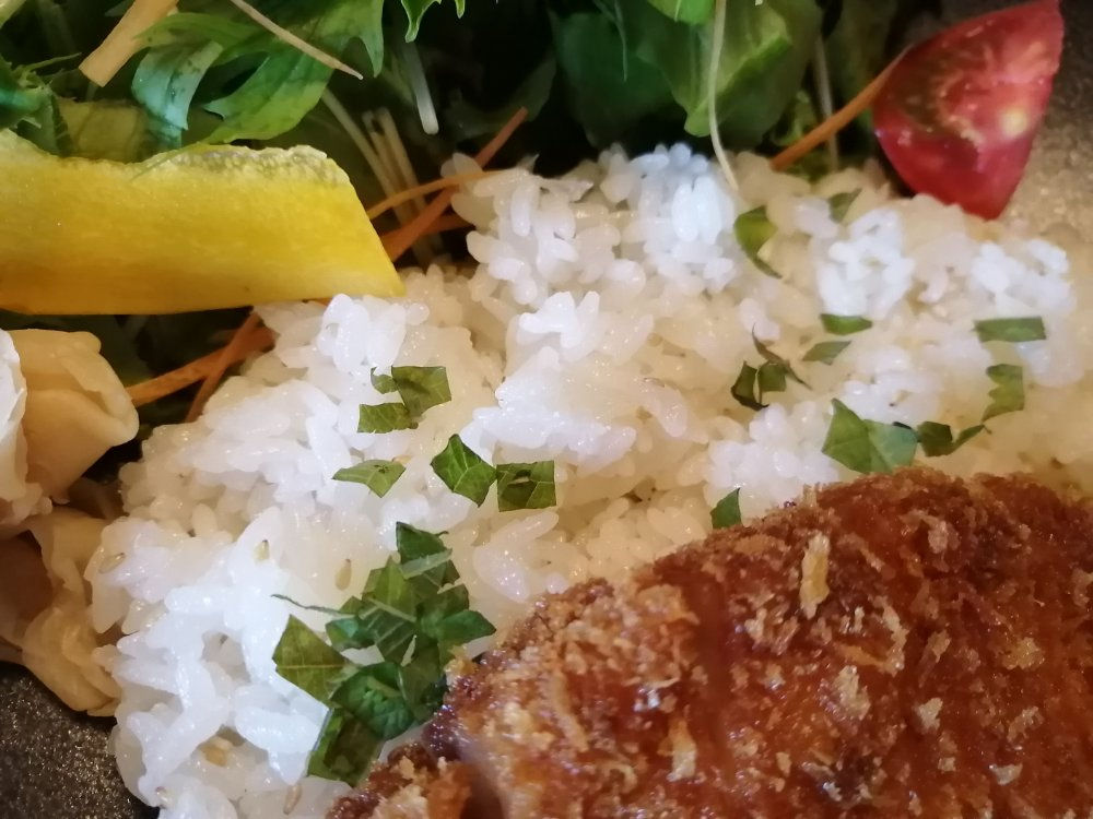 お米は酢飯