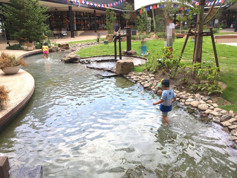 ブランチ仙台ウエストで水遊び