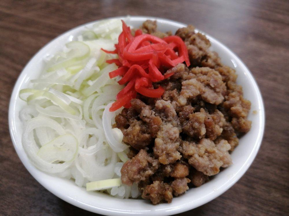 伊藤商店のミニ肉飯