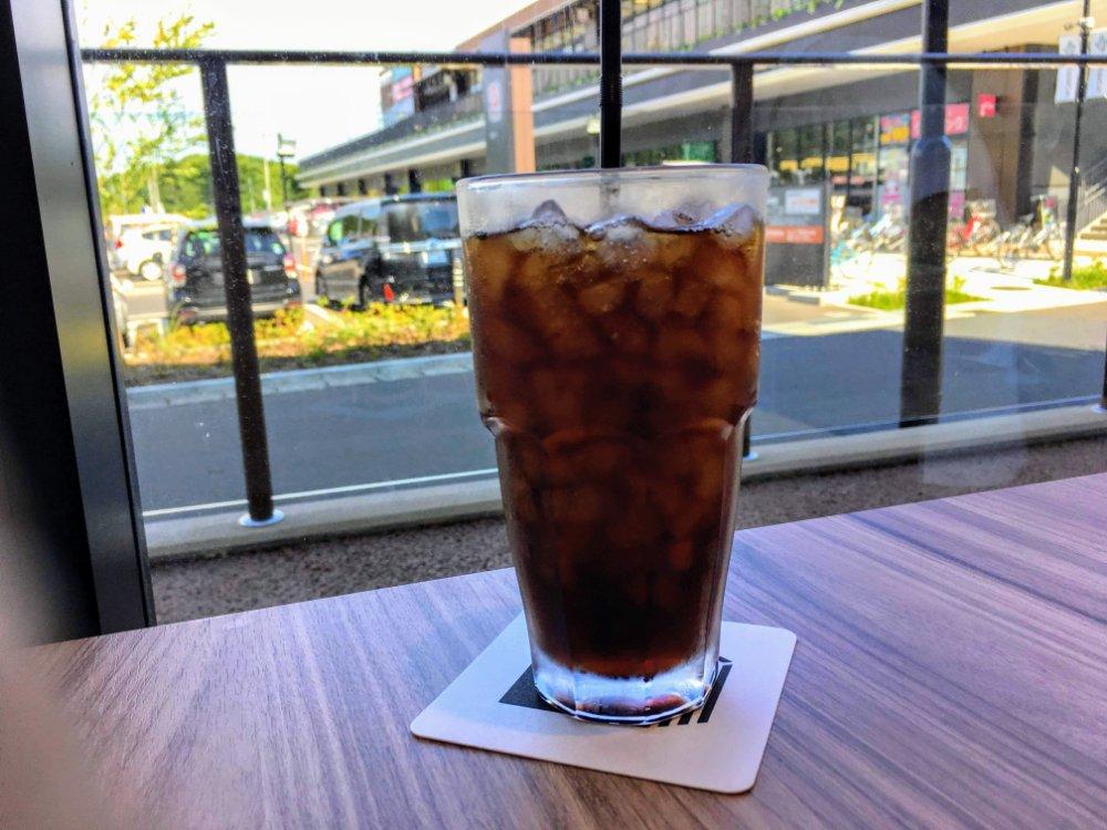 ラバッツァのアイスコーヒー
