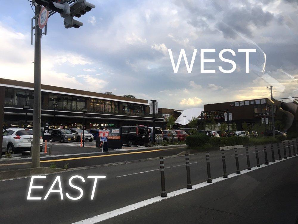 ブランチ仙台のEASTとWEST