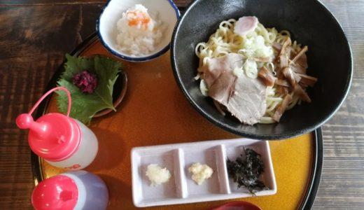 【スクープ】名取市にオープンした高館食道 水神蕎麦|油そばがメチャうまい!