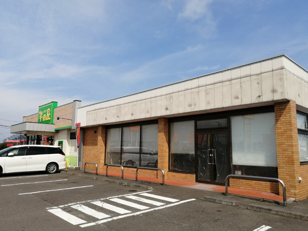 閉店したセブンイレブン仙台中田町店跡地