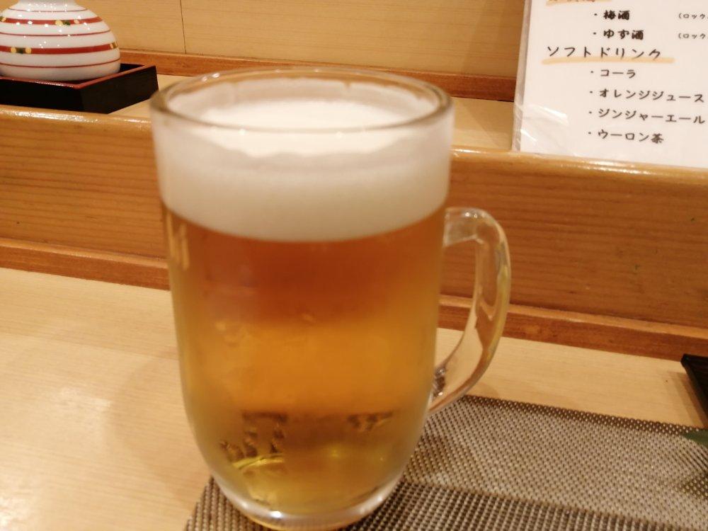 2杯目のビール