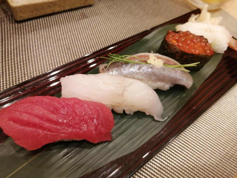 あら浜 仙台店の寿司