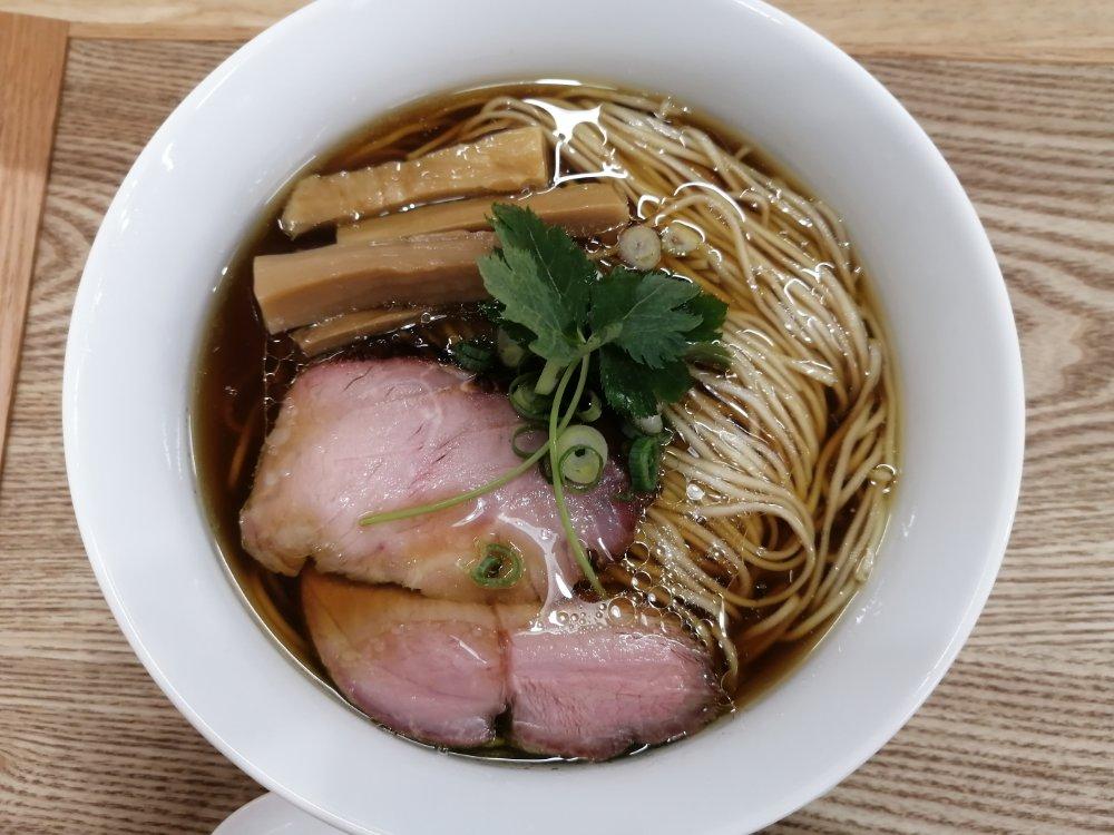 麺匠独眼流の醤油らぁ麺