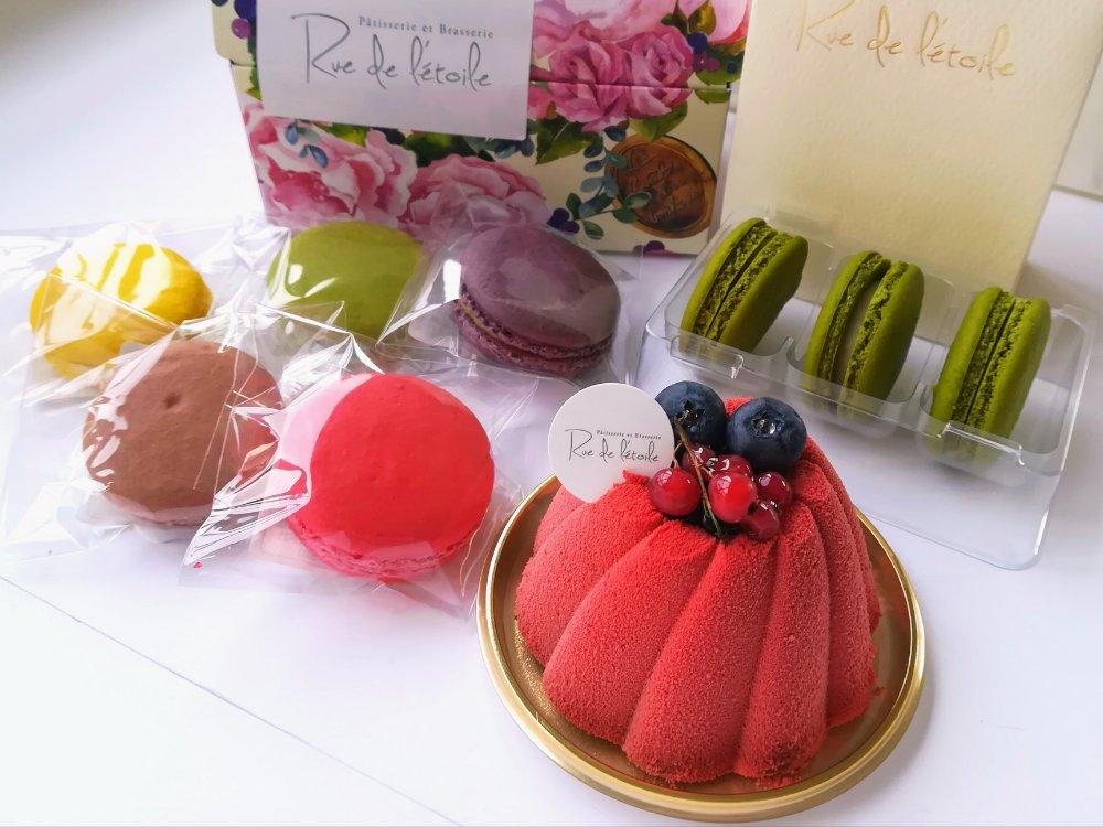 ルイ・ドゥ・レトワール藤崎店のケーキ