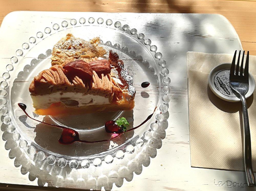 ラ・ドゥース・ヴィのケーキ