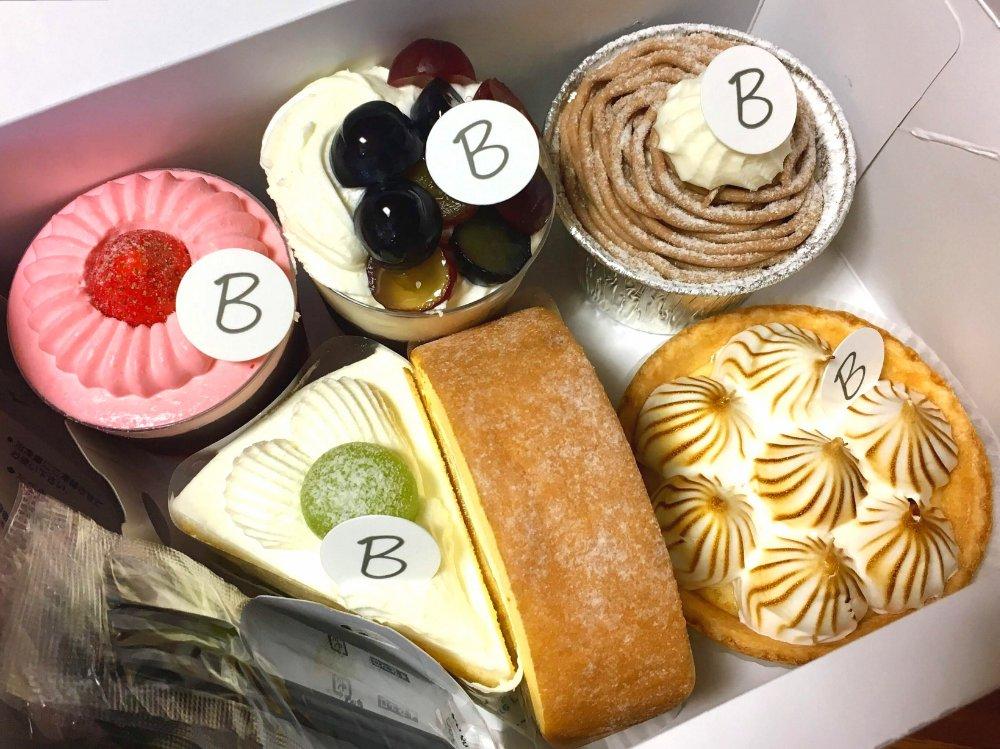 ペストリー ボタニカルのケーキ