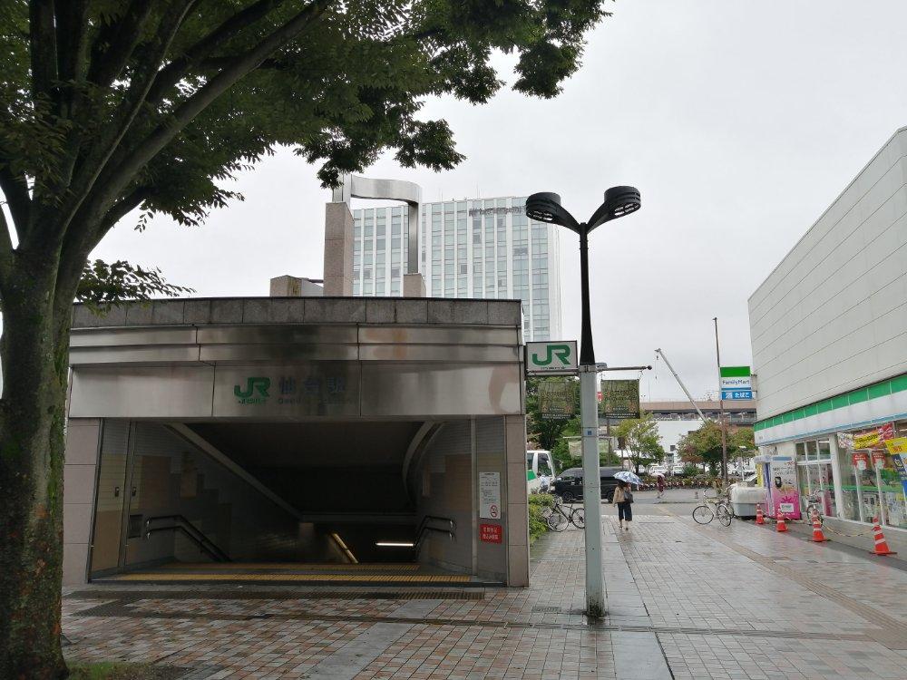 仙台駅東西自由通路出入口1