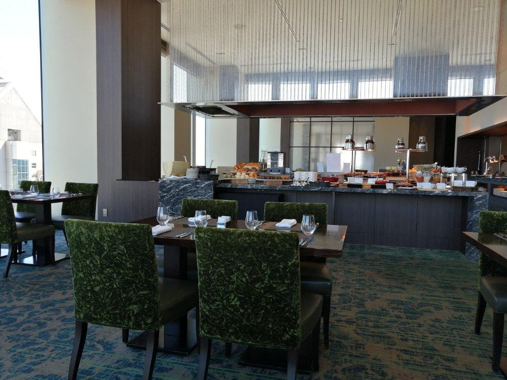 ウェスティンホテル仙台の26階レストランシンフォニーの雰囲気