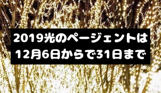 【仙台】2019SENDAI光のページェントは12月6日~31日まで 募金・協賛企業を募集中