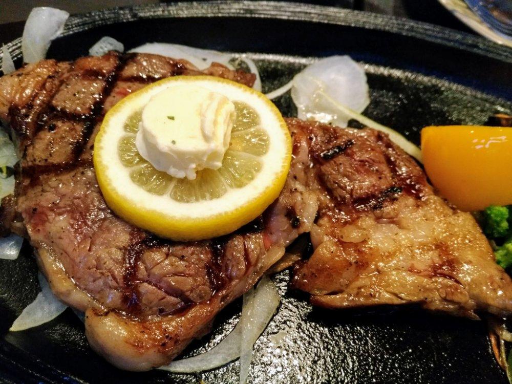 OBU ステーキ&ハンバーグの日高見牛