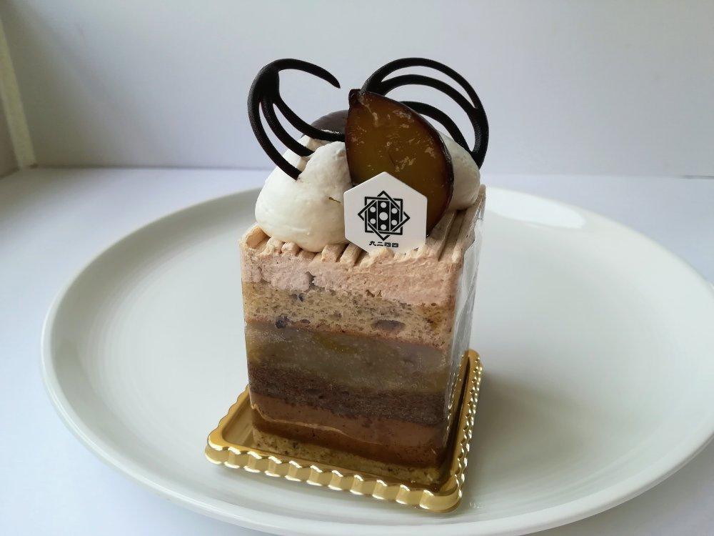 九二四四で一番人気のケーキ 栗とショコラとヘーゼルナッツ