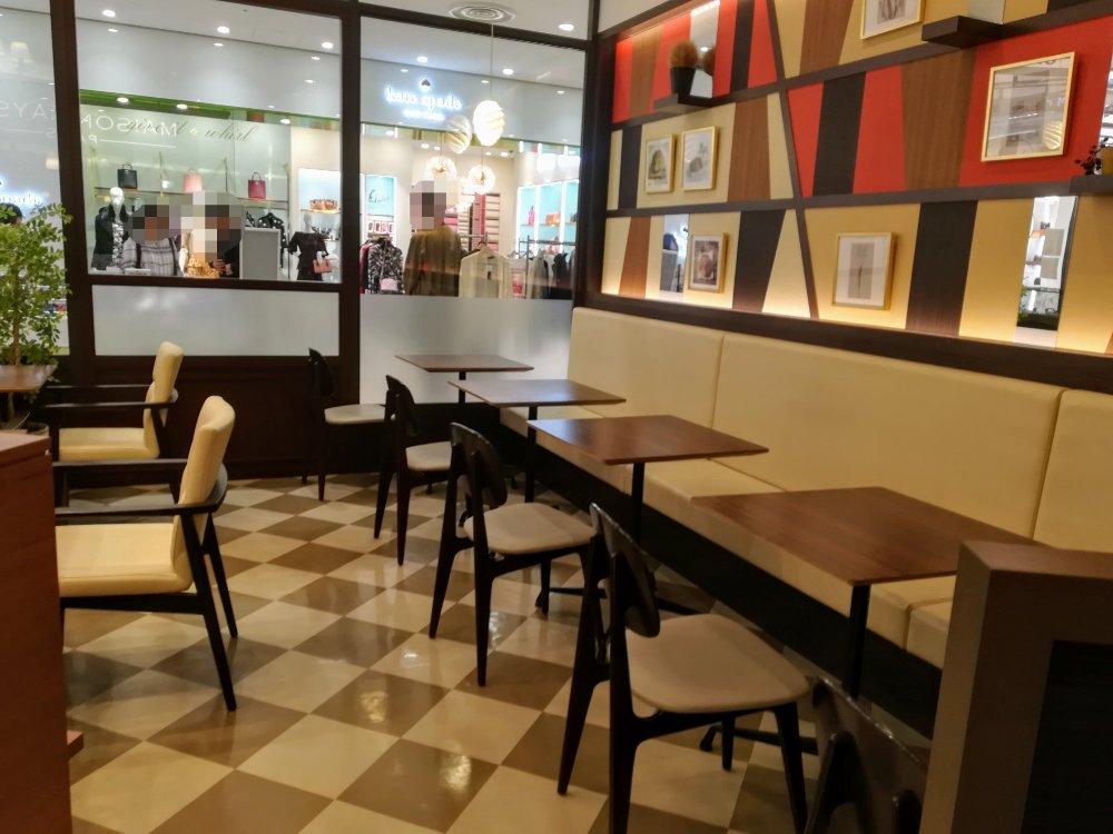 メゾンカイザー仙台パルコ2店のカフェ