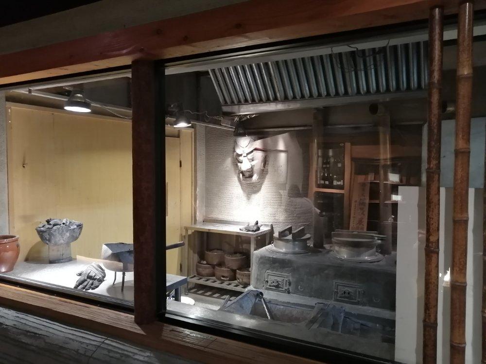 昔の厨房?