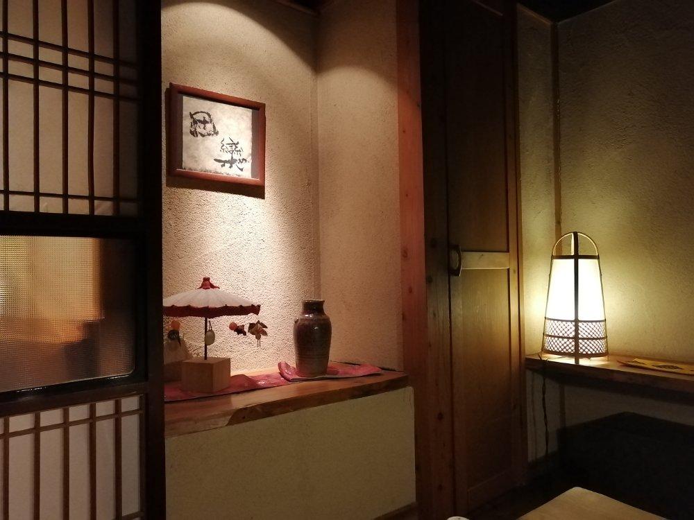 和の雰囲気が素敵な部屋