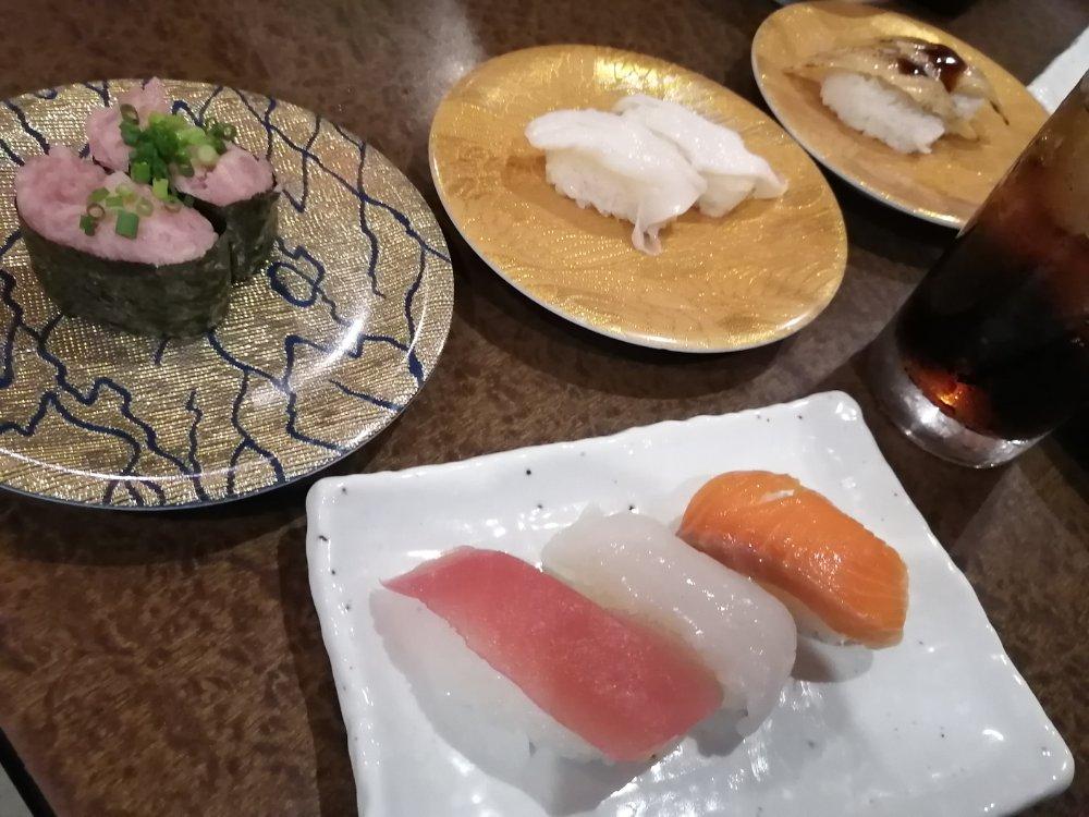しゃぶ屋総本店の寿司