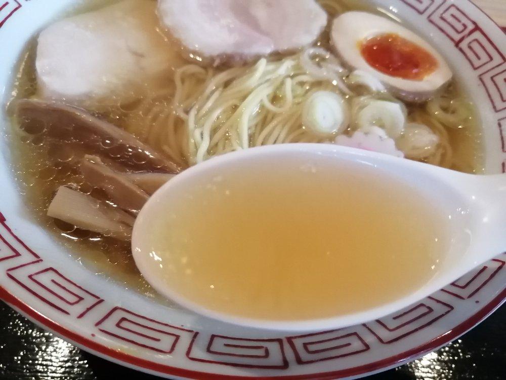 中華そばのスープ