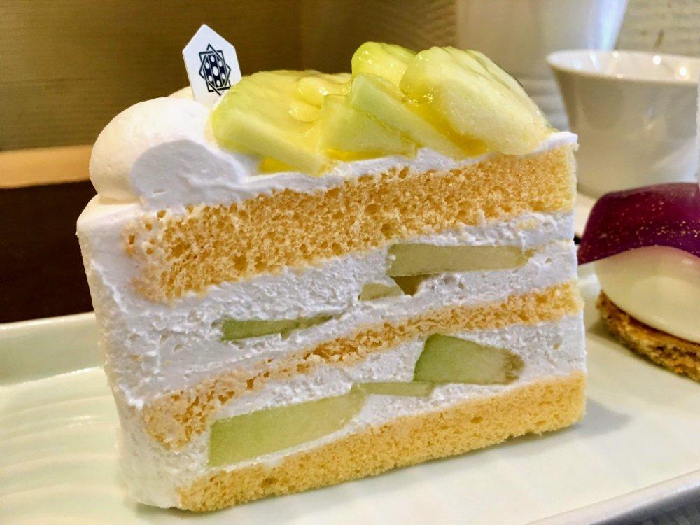 九二四四 メロンのショートケーキ