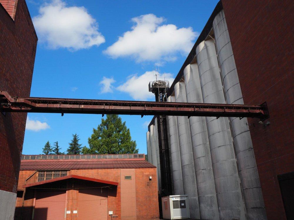ニッカウイスキー仙台工場の内部