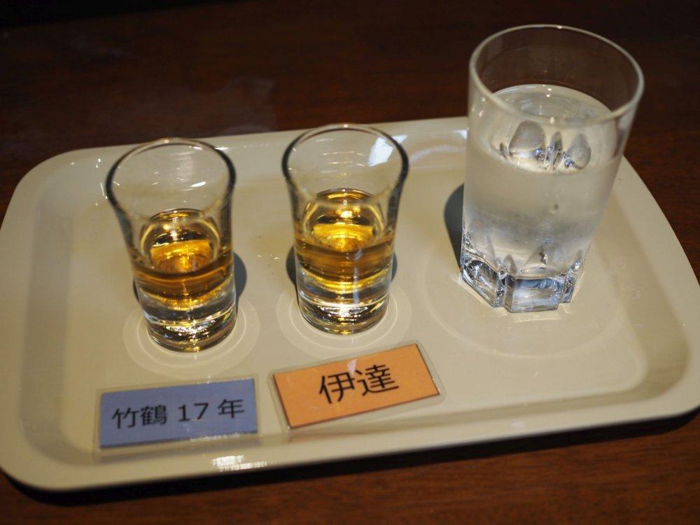 ブレンドウイスキーの伊達と竹鶴17年