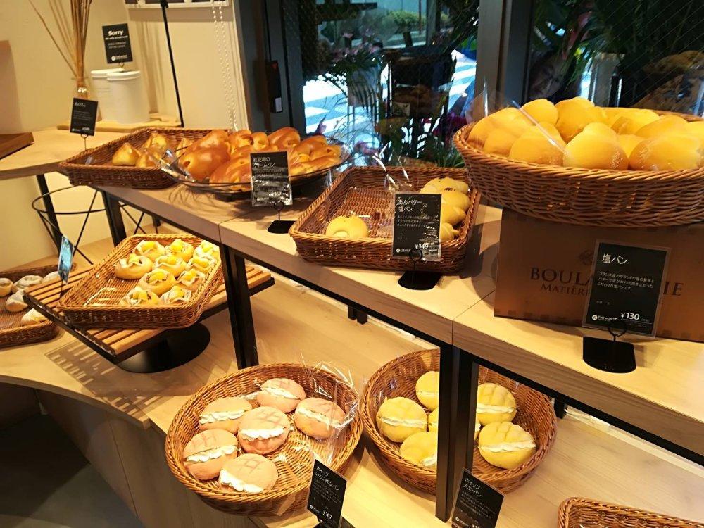 ザモストベーカリー仙台東口店のパン