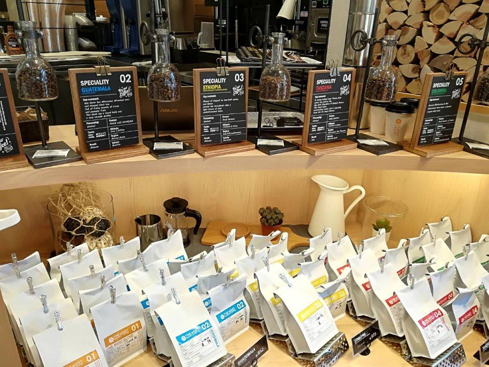 ザモストベーカリー仙台東口店のコーヒー