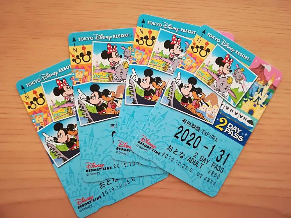 ディズニーリゾートライン乗車券(ディズニーホテルの特典)