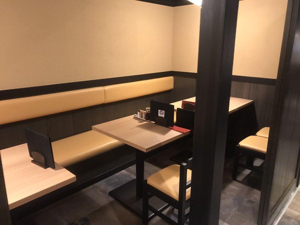 牛たん料理 閣(かく)の個室