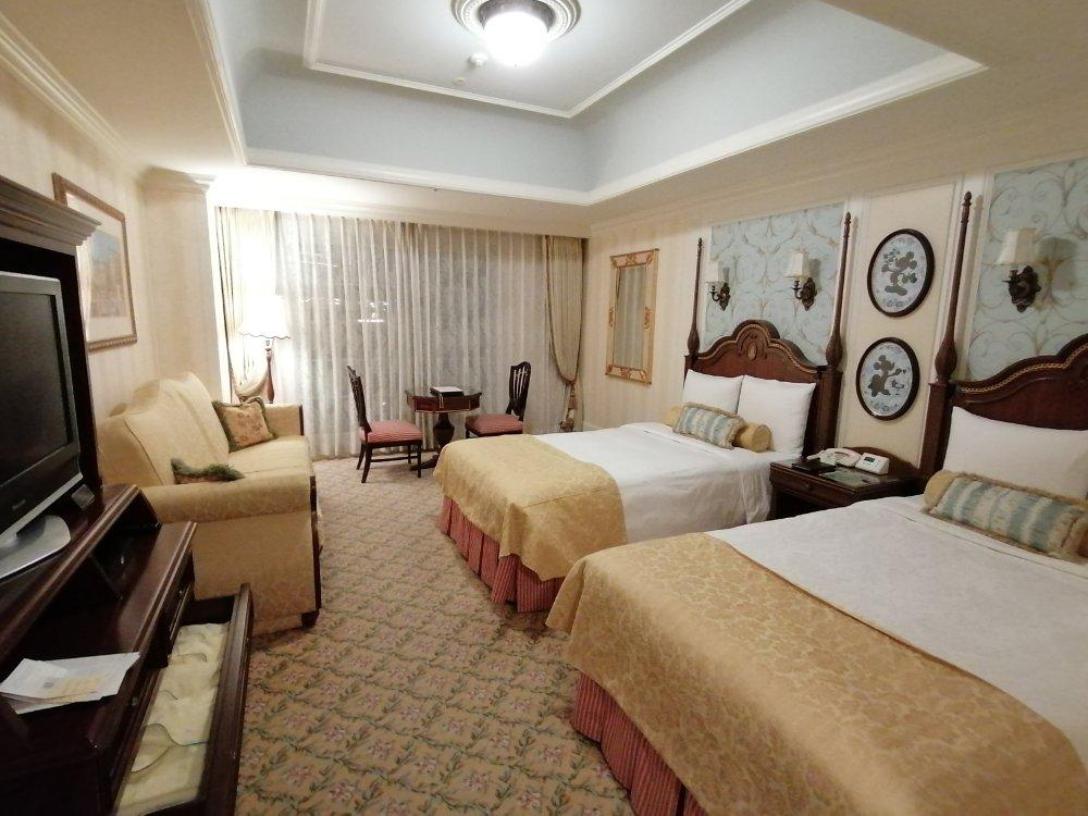 東京ディズニーランドホテルの部屋(パークビュー)