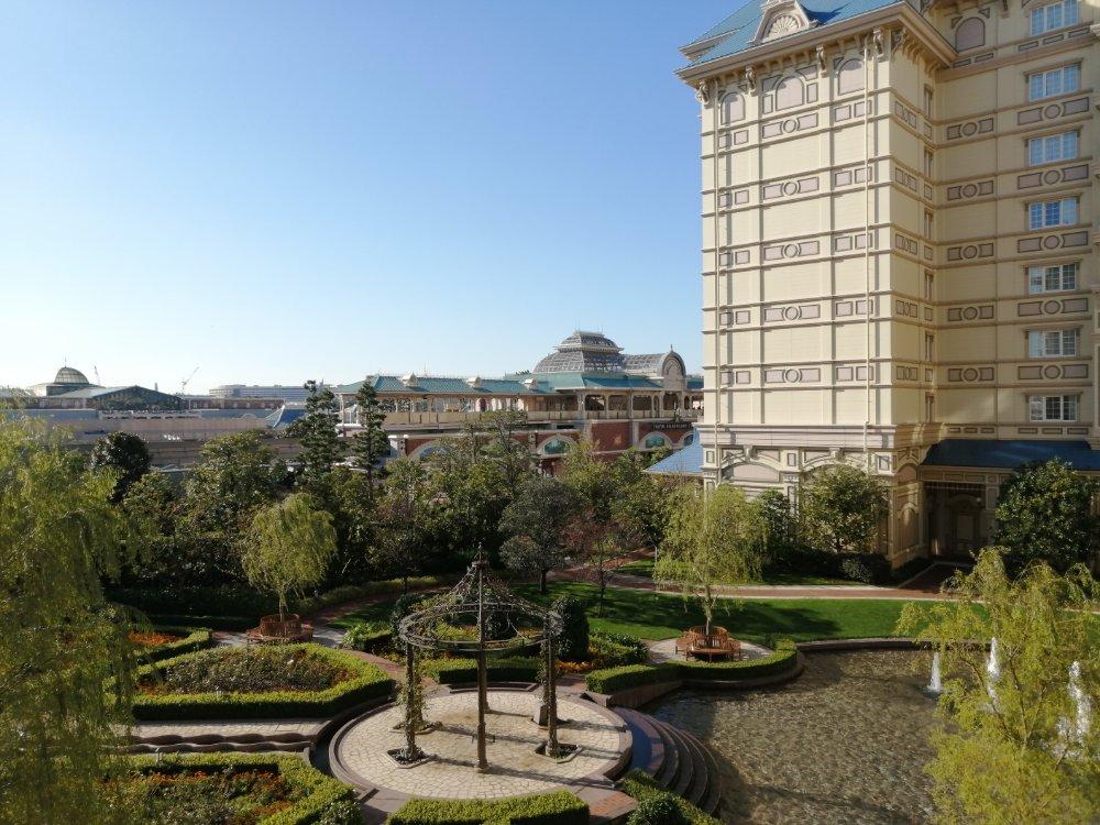 東京ディズニーランドホテルからの景色(昼)