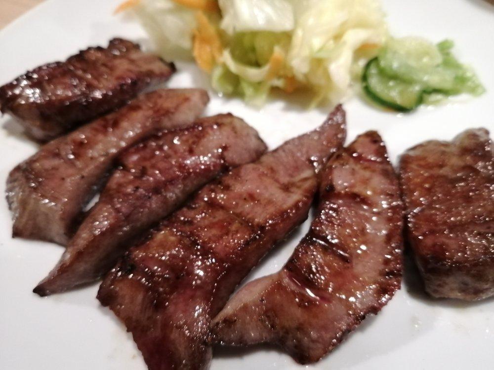 牛たん料理 閣の牛タン焼き