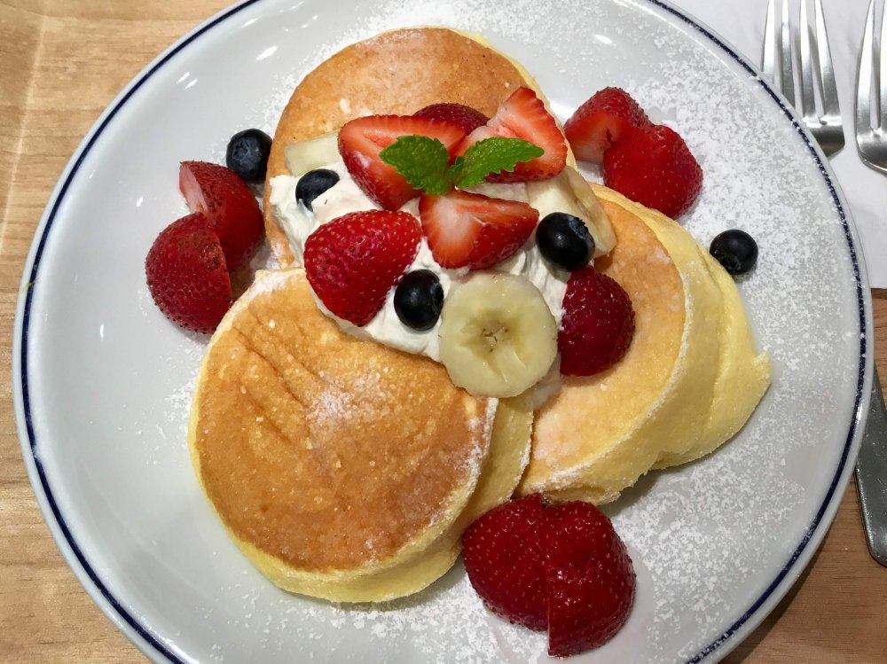 ブールアンジュのパンケーキ