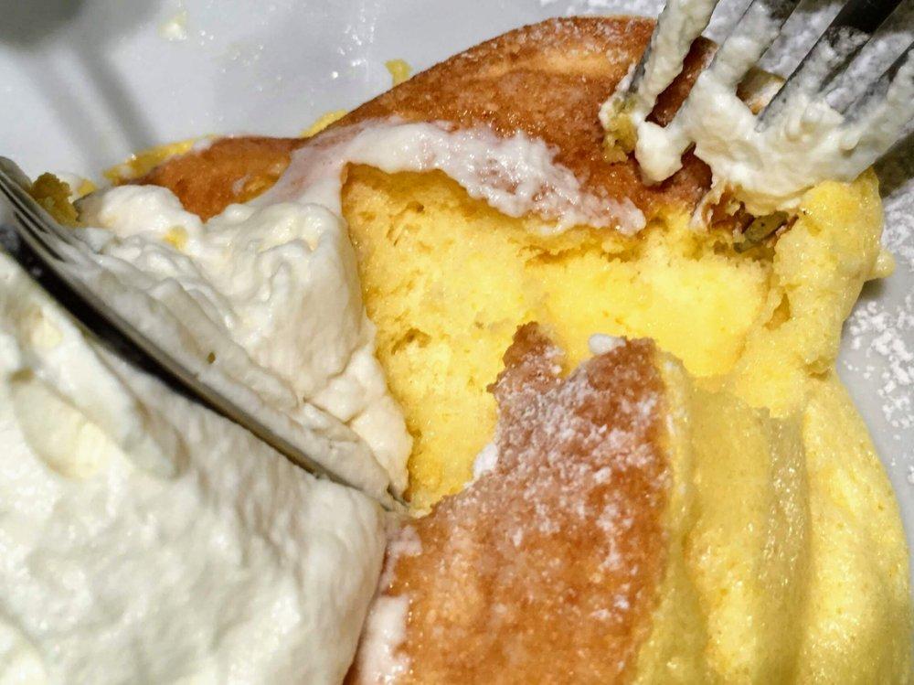 超ふわふわフリッパーズのパンケーキ