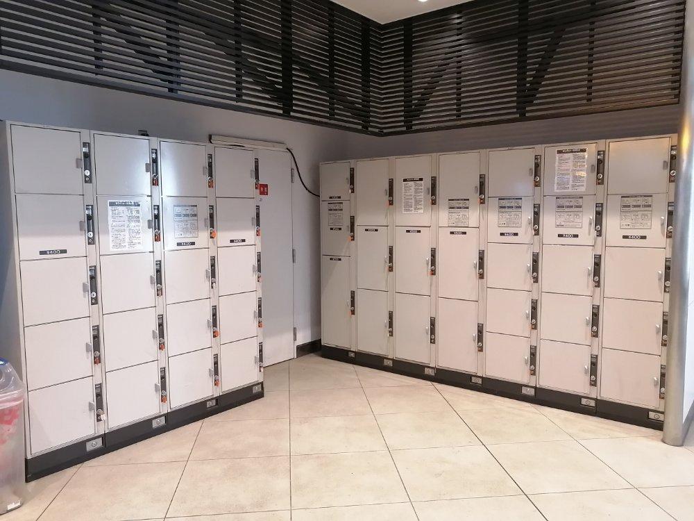 仙台駅地下 中央出口のコインロッカー