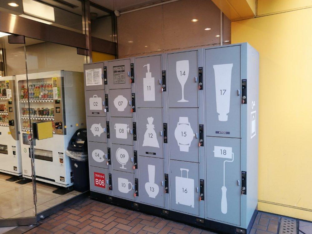 仙台ロフトのコインロッカー