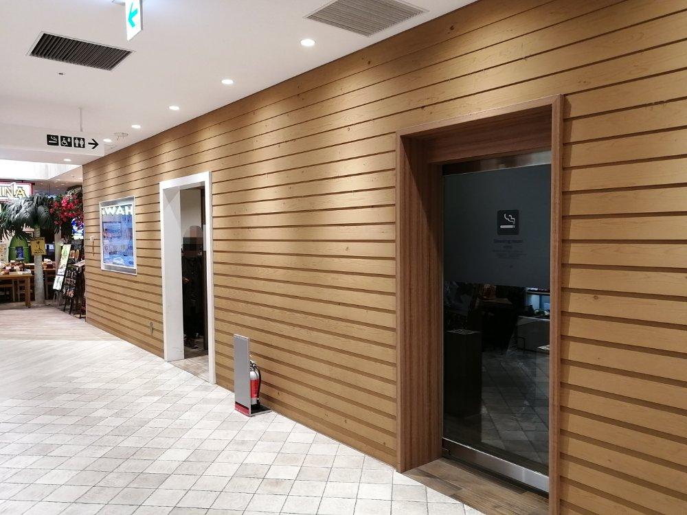 仙台パルコ2の喫煙所
