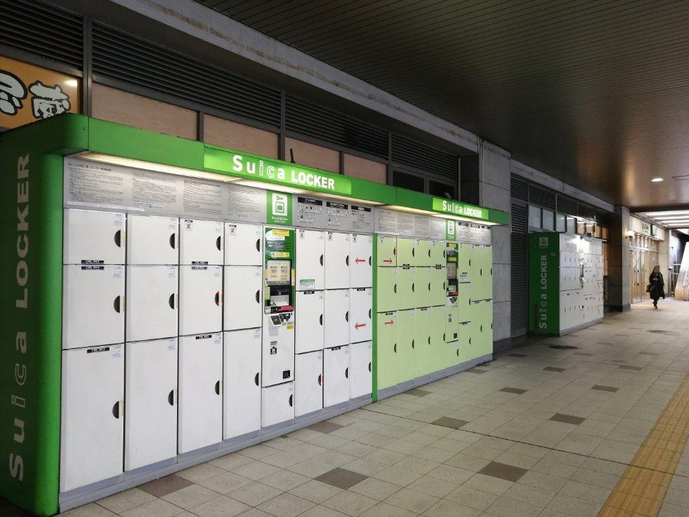 仙台駅西口コインロッカー