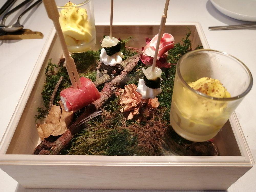 レストランミウラの前菜