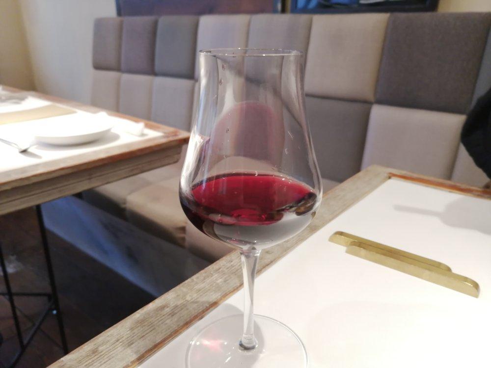 レストランミウラのグラスワイン小