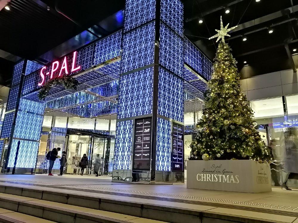 エスパル2のクリスマスツリー