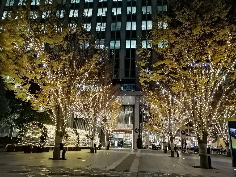 仙台トラストシティのライトアップ2019冬