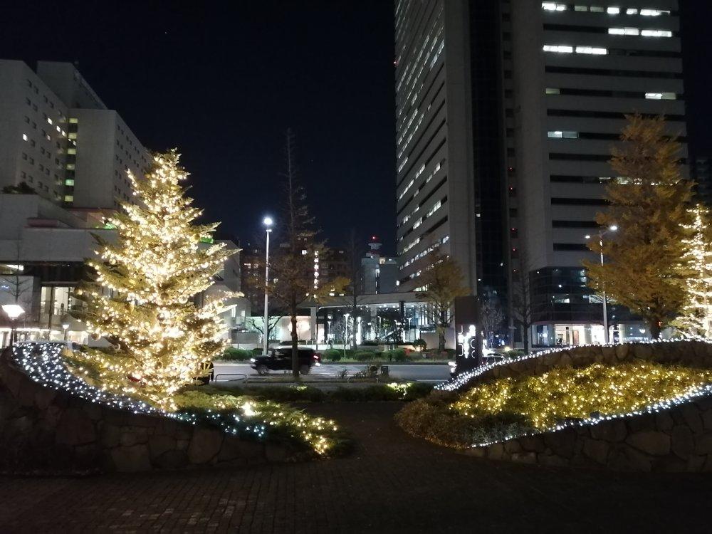 ウェスティンホテル仙台のイルミネーション