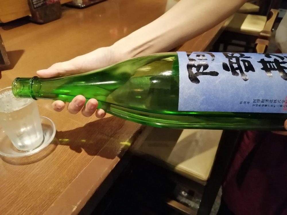 塩釜の日本酒 阿部勘